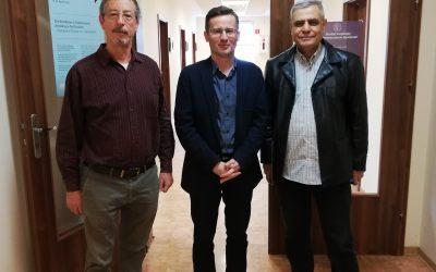 Odwiedziny badaczy z Izraela